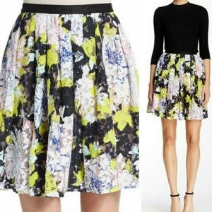 French Connection Botanical Trip Lace Skirt